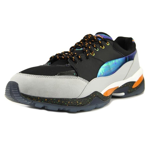 reputable site f93b5 121a5 Alexander McQueen By Puma MCQ Tech Runner LO Men Synthetic Black Sneakers