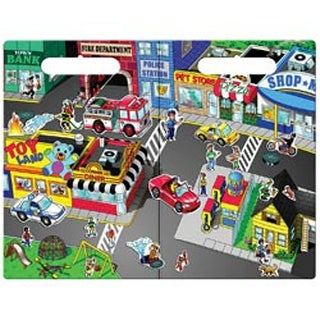 Town - Magnetic Create-A-Scene Kit