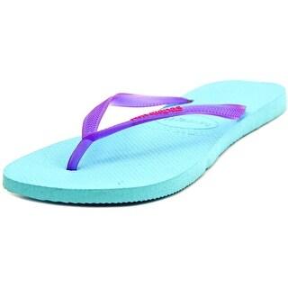 Havaianas Slim W Open Toe Synthetic Flip Flop Sandal