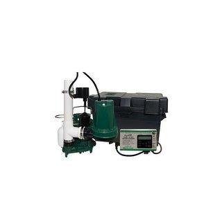 Zoeller 508-0006 12 V Submersible Battery Back-Up Sump Pump System - n/a - N/A