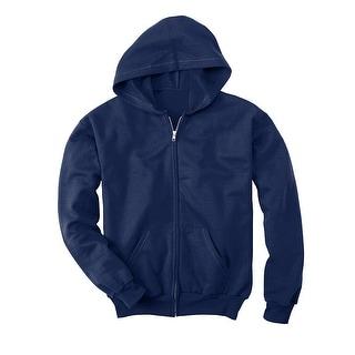 Hanes Comfortblend EcoSmart Full-Zip Kids' Hoodie Sweatshirt - XL