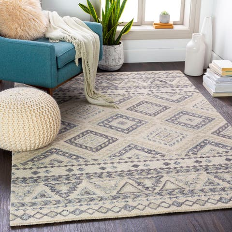 Toulouse Handmade Southwestern Wool Area Rug