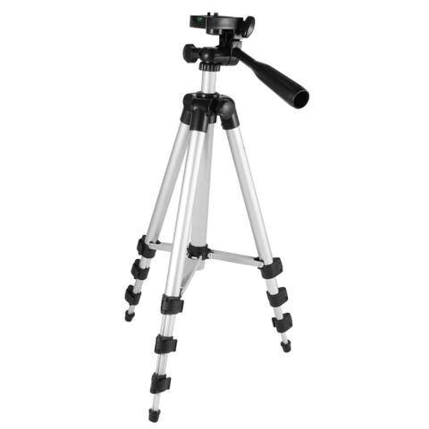 """Unique Bargains Universal Portable 4 Sections VCR Camera Tripod Mount Stand 39.4"""" w Carrying Bag"""