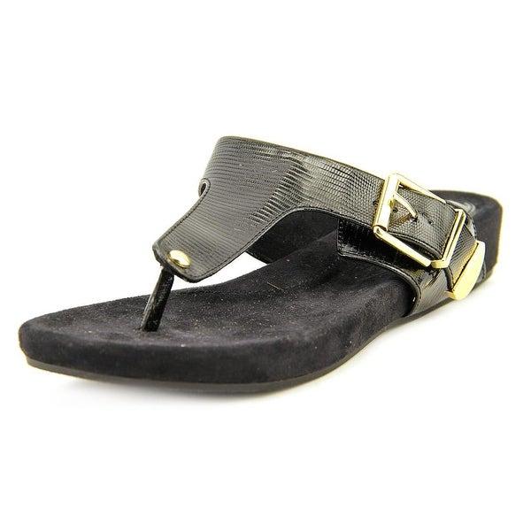 Giani Bernini Ryanne Women Open Toe Synthetic Black Sandals