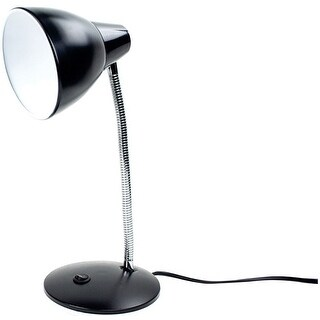 "Newhouse Lighting NHESS-BK Adjustable Desk Lamp, 14-3/4"", Black"