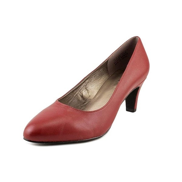 ARRAY Womens rose Leather Closed Toe Classic Pumps