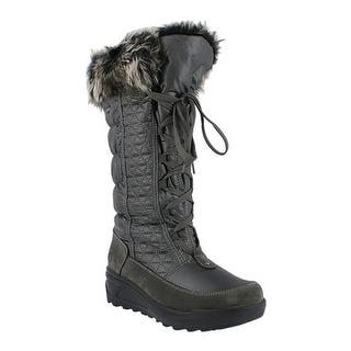 56fc56cce95 Spring Step Women s Fotios Boot Gray Nylon. Spring step new comfort wedges  dsw