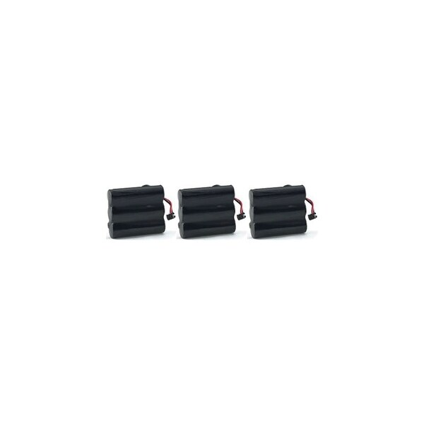 Replacement Battery For AT&T EL42308 / EL42408 Cordless Phones - BT17333 (400mAh, 3.6V, NiCD) - 3 Pack