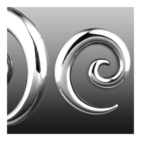 Spiral Surgical Steel Taper (Sold Individually)