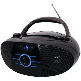 Jensen Cd-560 Portable Stereo Cd Player With Am/Fm Stereo Radio & Bluetooth(R)
