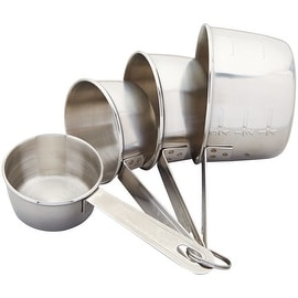 Good Cook 19850 Measuring Cup Set, Stainless Steel