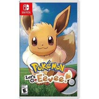 Link to Pokémon: Let's Go, Eevee! Standard Edition - Nintendo Switch Similar Items in Hardware & Accessories