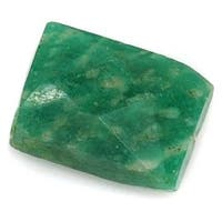 Green Amazonite Faceted Rectangle Gemstone Beads 6-15mm (10)