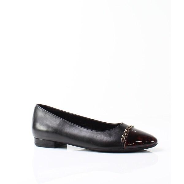 Vaneli NEW Black Women's Shoes Size 10.5M Calida Tortoise Loafer