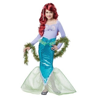 Girls Magical Mermaid Halloween Costume (2 options available)