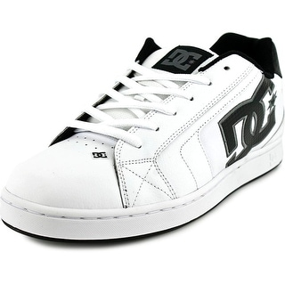 DC Shoes Net Men  Round Toe Leather White Skate Shoe