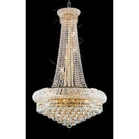 French Empire Crystal Chandelier Lighting H50 x W24