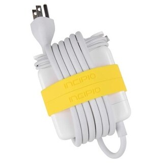 Incipio Block Bands for 85W Power Adapter for MacBook Pro 15''/17'' (Neon Yell