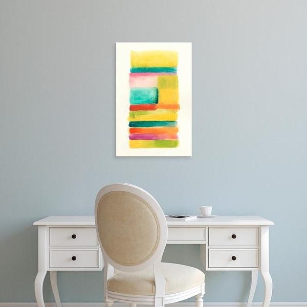 Easy Art Prints June Erica Vess's 'Layer Cake IV' Premium Canvas Art