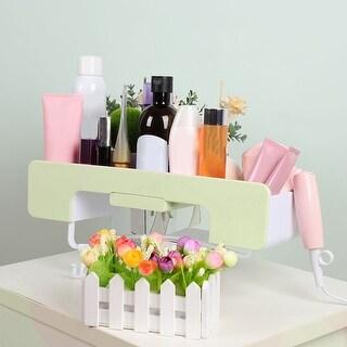 Self Stick Wall Mount Storage Organizer Shower Shelf for Kitchen Bathroom