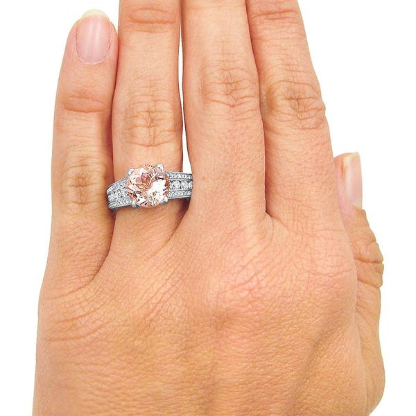 Sterling Silver $120 3ct Clear Solitaire Round cz Engagement Wedding ring Siz 7