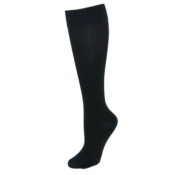 Gold Toe Women's Moderate Compression Herringbone Knee Socks