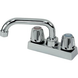 B & K 225-503 Double Handle Laundry Tray Faucet Chrome Plated