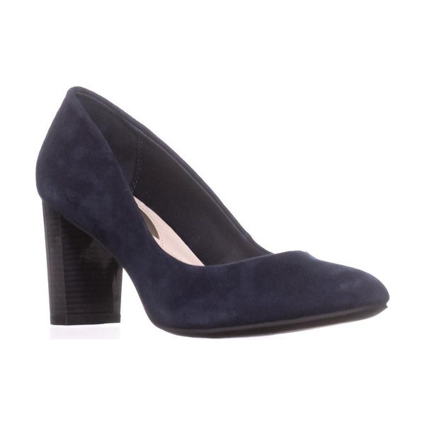 988cb86701b Shop Alfani Womens Morgaan Leather Closed Toe Classic Pumps - On ...