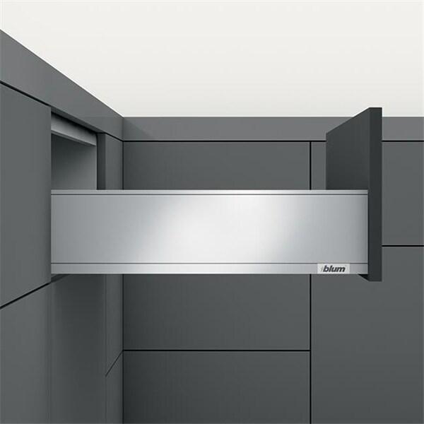 Shop Blum Legra K Height Drawer Profile Stainless Steel 18 In