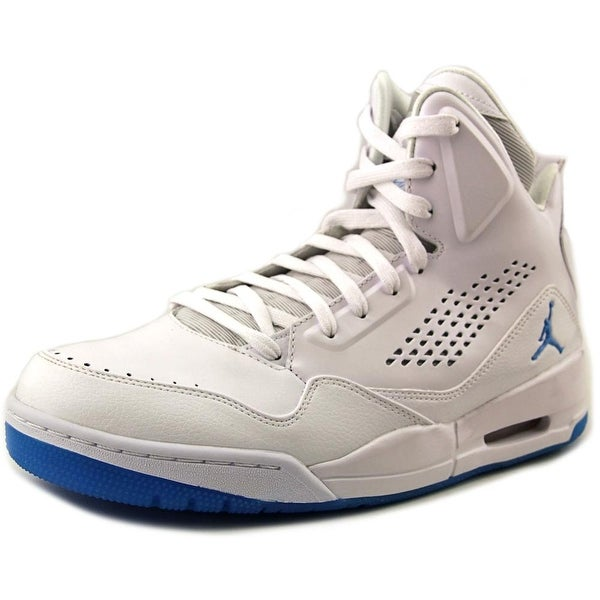 Jordan SC-3 Men White/Dark Powder Blue Basketball Shoes
