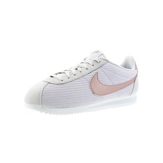 Nike Womens Classic Cortez Leather Lux Sneakers Fashion Retro