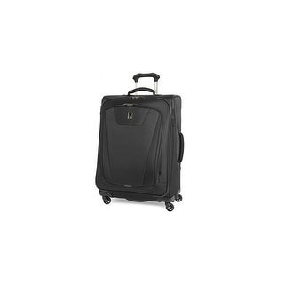 """Travelpro Maxlite 4 - Black 25"""" Polyester Fabric Expandable Spinner w/ Water Resistant Coating"""