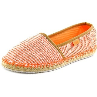 Rocket Dog Temple Women Round Toe Canvas Orange Flats
