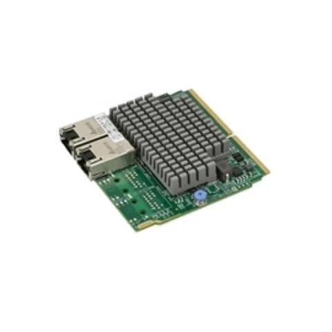 Supermicro Accessory AOC-MTG-I2T-O SIOM 2-port 10Gbase-T Intel X550 Brown Box