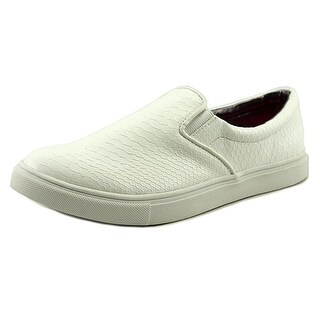 Material Girl Womens Extra Low Top Slip On Fashion Sneakers
