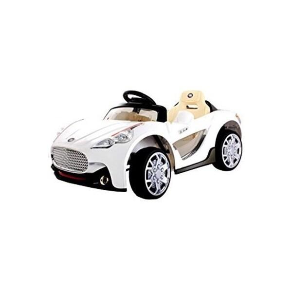 shop best ride on cars maserati 6v-white 6v battery toys car - white