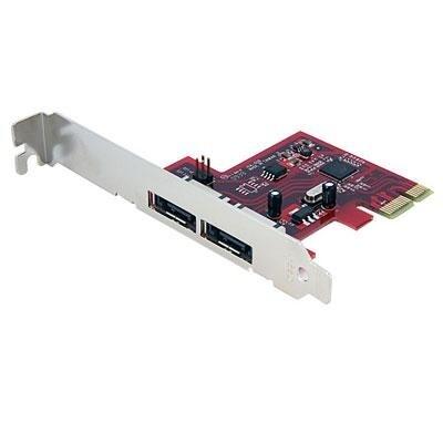 Startech Pexesat32 2 Port Sata 6 Gbps Pci Express Esata Controller Card