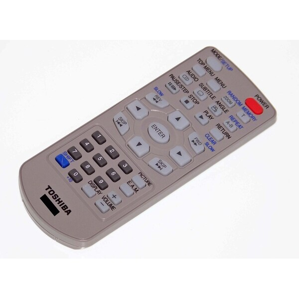 OEM Toshiba Remote Originally Shipped With: SDP2800, SD-P2800, SDP2800SN, SD-P2800SN