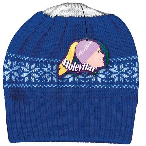 Women's Ponytail Knit Hat - Winter Wear - MEDIUM