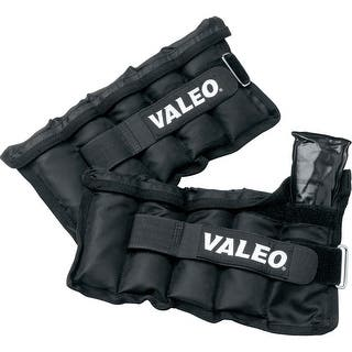 Valeo 10 lb. Adjustable Ankle/Wrist Weights, Black, Pair - 10 lb|https://ak1.ostkcdn.com/images/products/is/images/direct/d8c064cea76f3beab390b4c91fd625a0c3a9aea9/Valeo-10-lb.-Adjustable-Ankle-Wrist-Weights%2C-Black%2C-Pair.jpg?impolicy=medium