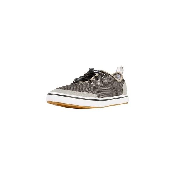 Xtratuf Men's Black Riptide Deck Shoes w/ Iconic Chevron Outsole Pattern - Size 7.5