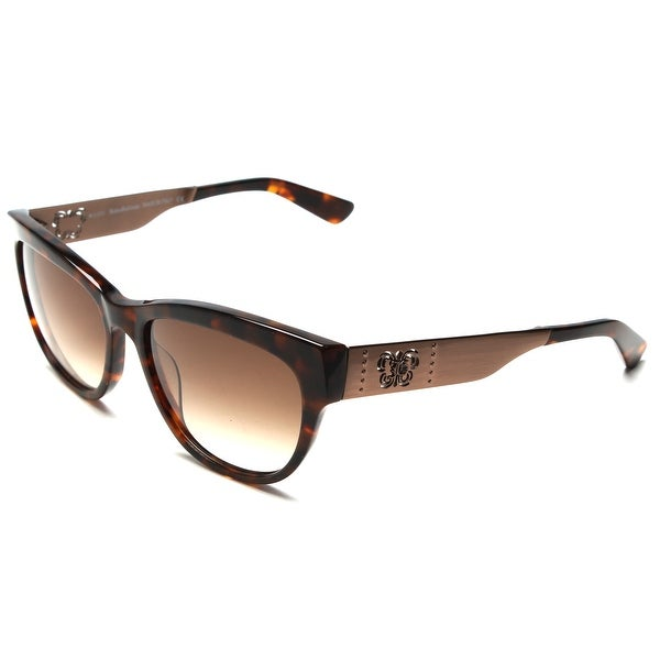 ff7509107f7 Shop John Galliano Women s Classic Style Sunglasses Tortoise - Brown -  Small - Free Shipping Today - Overstock - 12300773