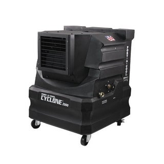 Port A Cool PACCYC02 Cyclone 2000 Portable Evaporative Cooler - Black