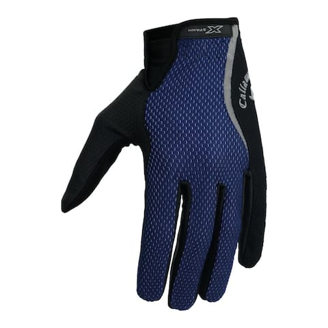 Callaway Golf Men's X-Spann Rain Series Gloves - Navy/Black