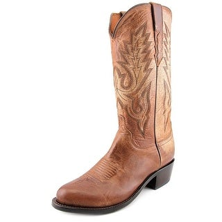 Lucchese Mad Dog Men Square Toe Leather Western Boot