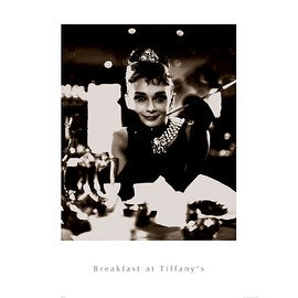 ''Breakfast at Tiffany's'' by Anon Movie & TV Posters Art Print (32 x 24 in.)