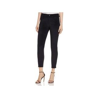 Blank NYC Womens Crybaby Skinny Jeans Velveteen Dark Wash