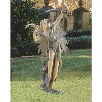 Design Toscano  Rhiannon the Archer Garden Fairy Statue
