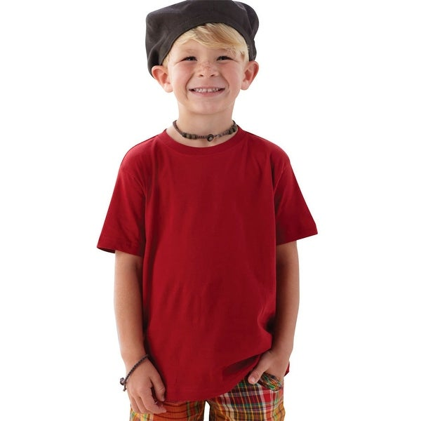 a89622874 Shop Rabbit Skins Toddler Fine Jersey Double Needle T-Shirt. 3321 - Free  Shipping On Orders Over $45 - Overstock - 23054626