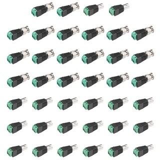 20Pair Cat5 to Coaxial Camera CCTV BNC Male/Female Jack Connector Screw Terminal - 20pcs male + 20pcs female
